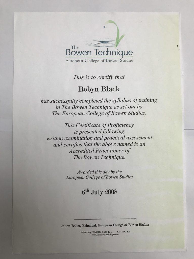 Bowen Technique